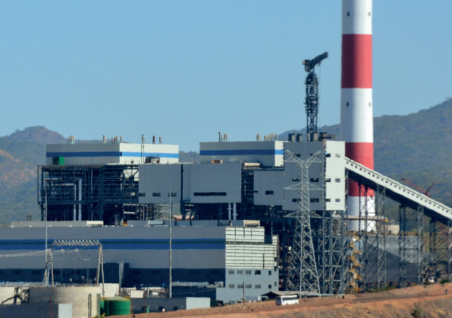 Maamba Collieries thermal power plant